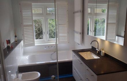 Badkamer verbouwing en renovatie Heemstede