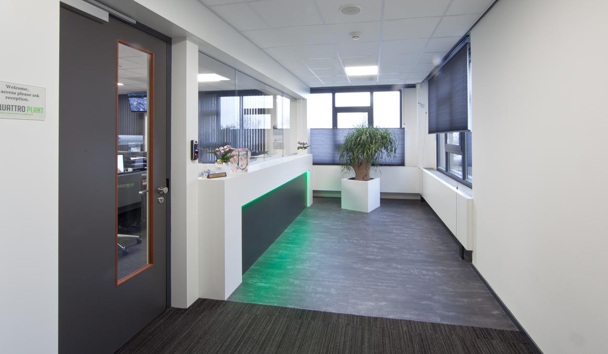 Verbouwing kantoor Aalsmeer in Aalsmeer