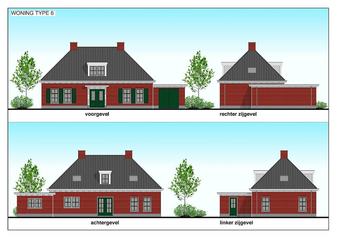 TYPE 6 nieuwbouw woning: Klassieke allure in