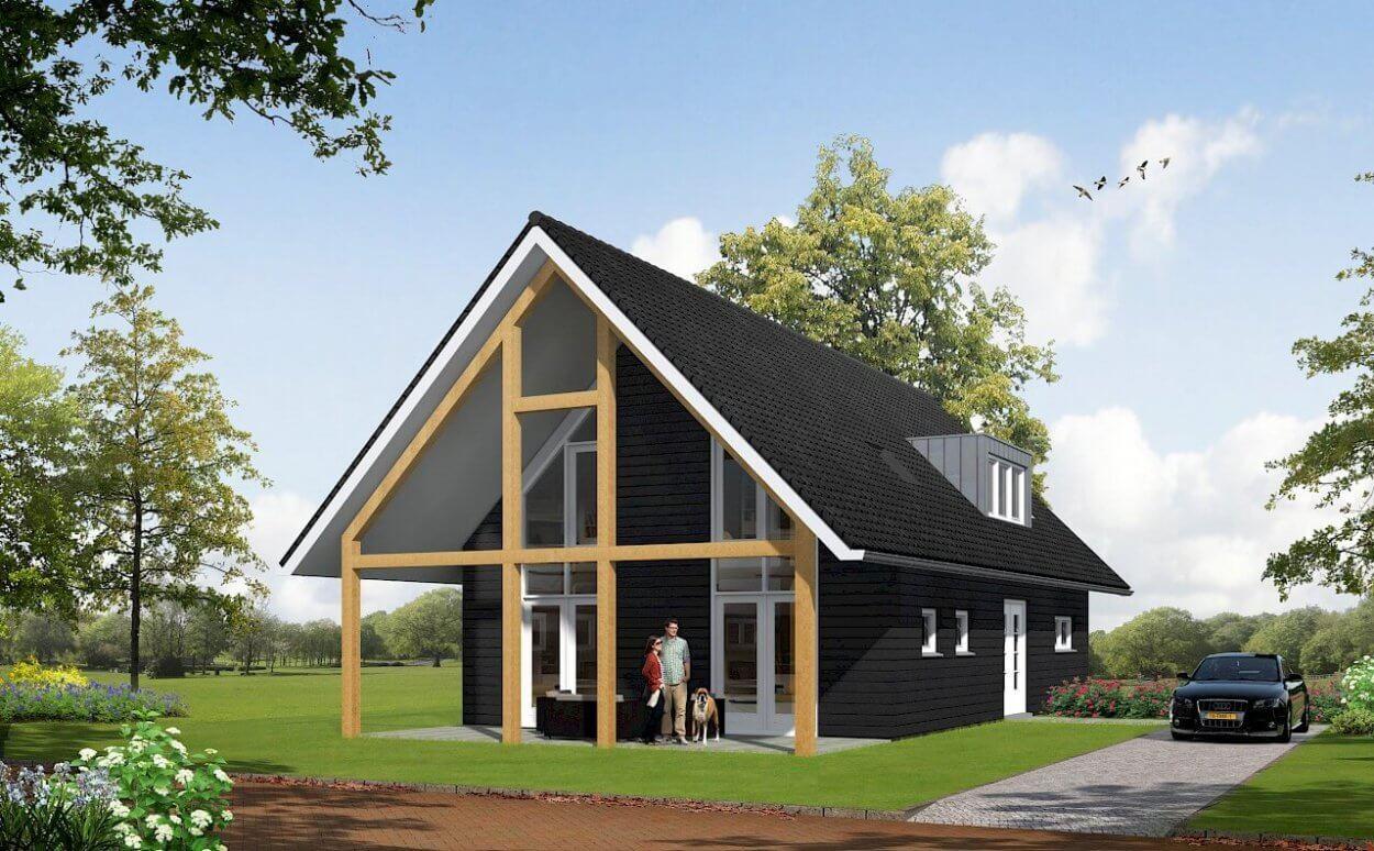 TYPE 10 nieuwbouw woning: Landelijke eenvoud in