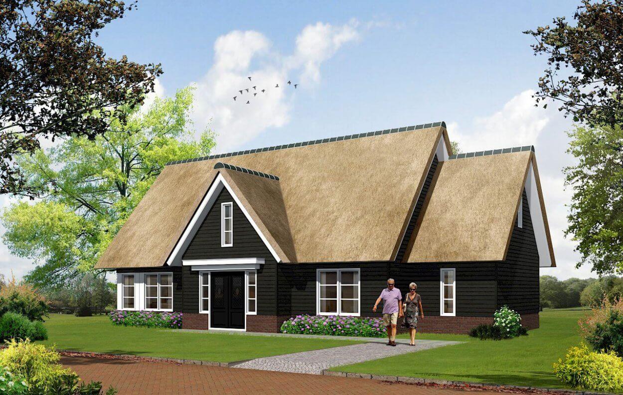 TYPE 7 nieuwbouw woning: Oer-hollands gevoel in