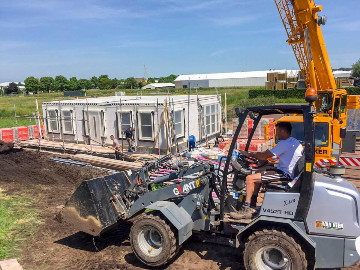 Nieuwbouw huis laten bouwen Aannemersbedrijf Wendelgelst