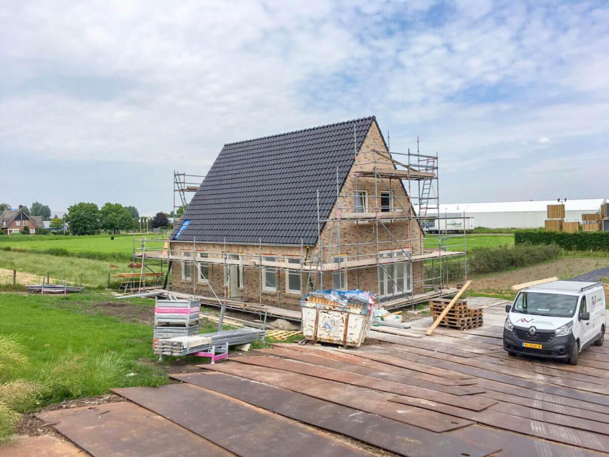 Vrijstaande woning bouwen Bouwbedrijf Wendelgelst