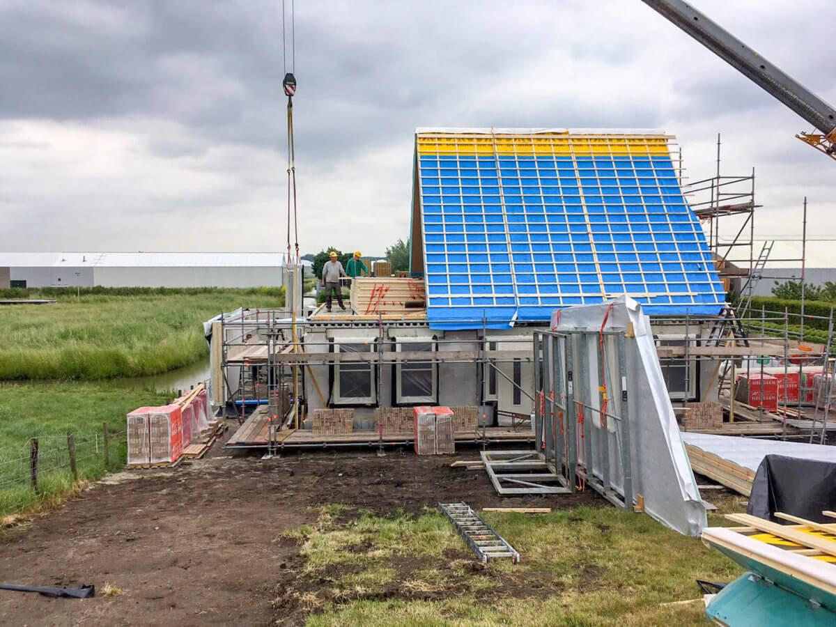 Woning bouwen aannemer Wendelgelst