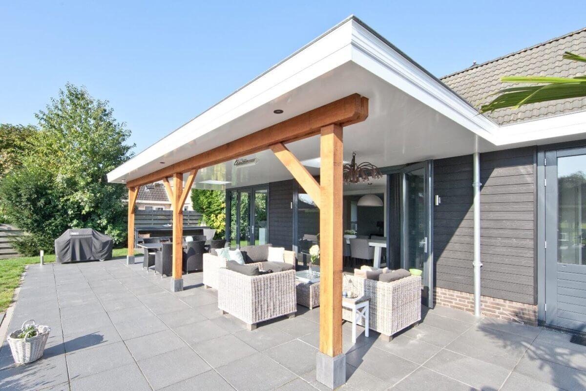 Aanbouw huis en uitbouw Kudelstaart