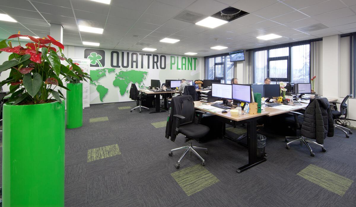 Aannemersbedrijf kantoor verbouwing