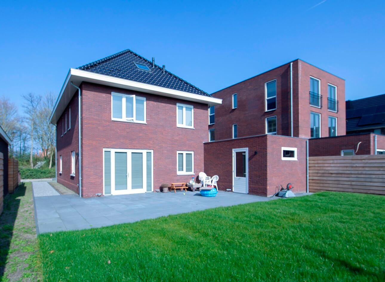 Nieuwbouw woning Aannemersbedrijf Wendelgelst