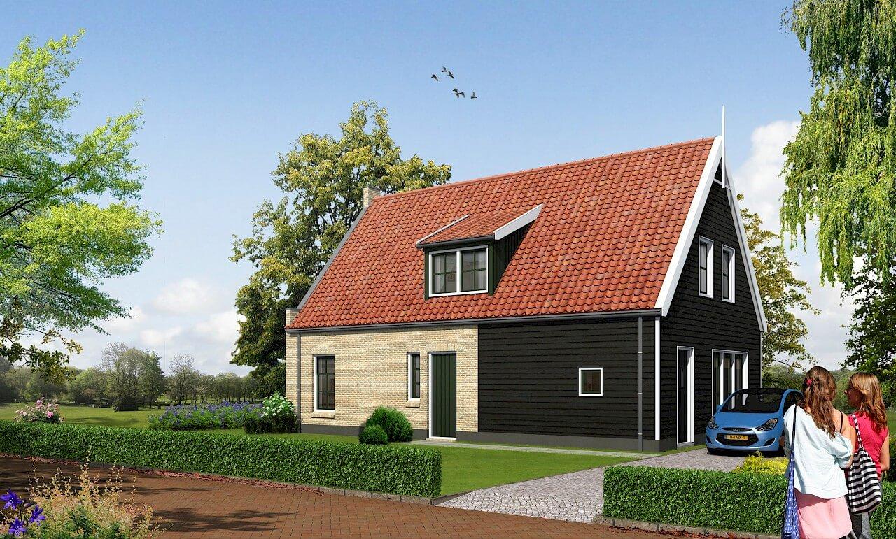 Nieuwbouw woning laten bouwen Aannemersbedrijf Wendelgelst