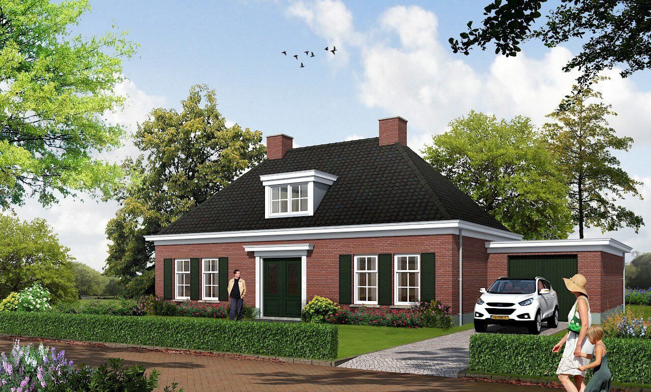 Nieuwbouwhuis laten bouwen Bouwbedrijf Wendelgelst
