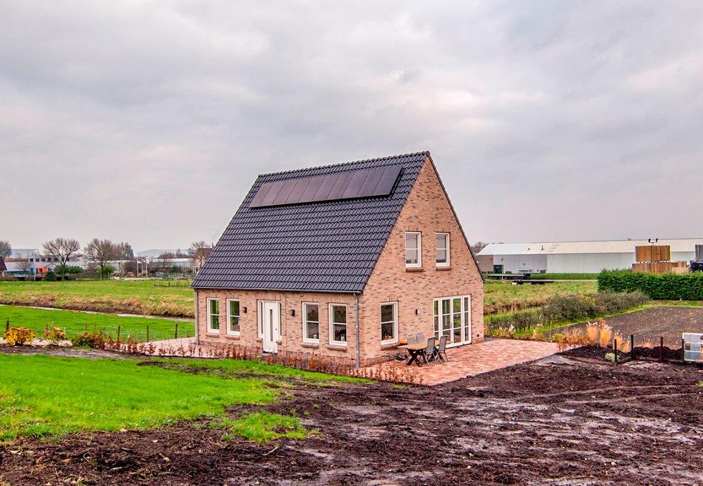 Vrijstaande woning laten bouwen aannemersbedrijf Wendelgelst