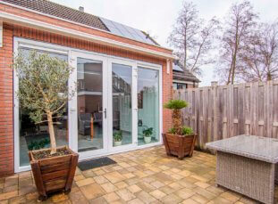 Uitbouw woning in Hoofddorp